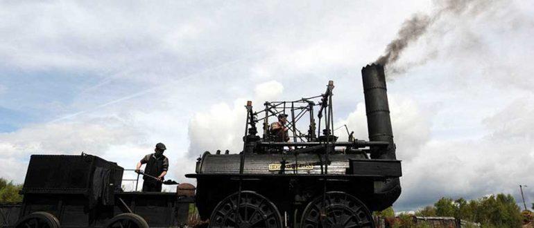 Первый локомотив Роберта Стефенсона отмечает свой юбилей