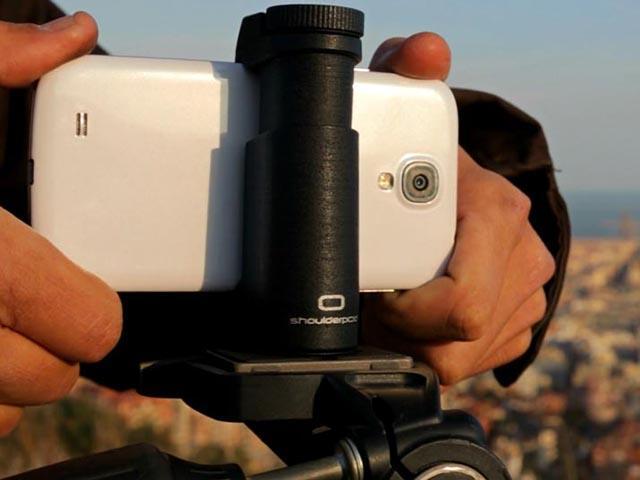 Shoulderpod: современный штатив для съемки со смартфонов