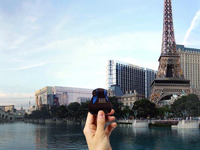 Новая Full HD камера 360cam может снимать на 360 градусов