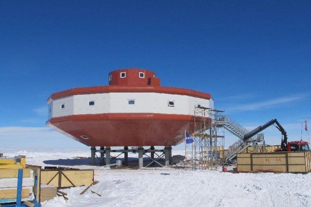 Для чего Китай возводит научные центры в Антарктиде?