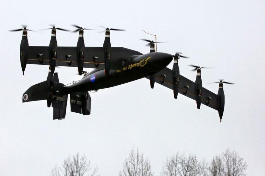 В НАСА построили беспилотник с 10 электродвигателями