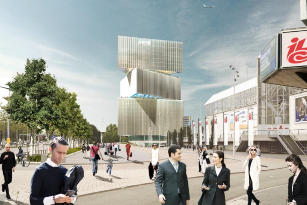 У крупнейшего отеля стран Бенилюкса будет витой дизайн