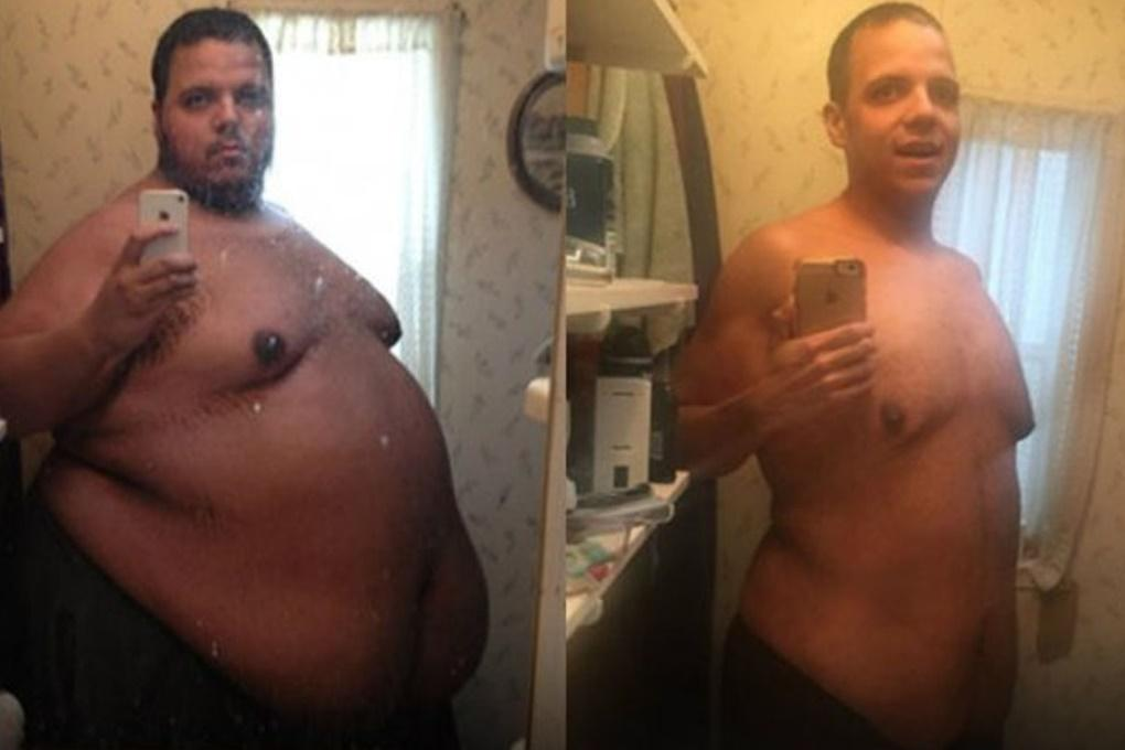 Американец сбросил более 150 килограмм за два года