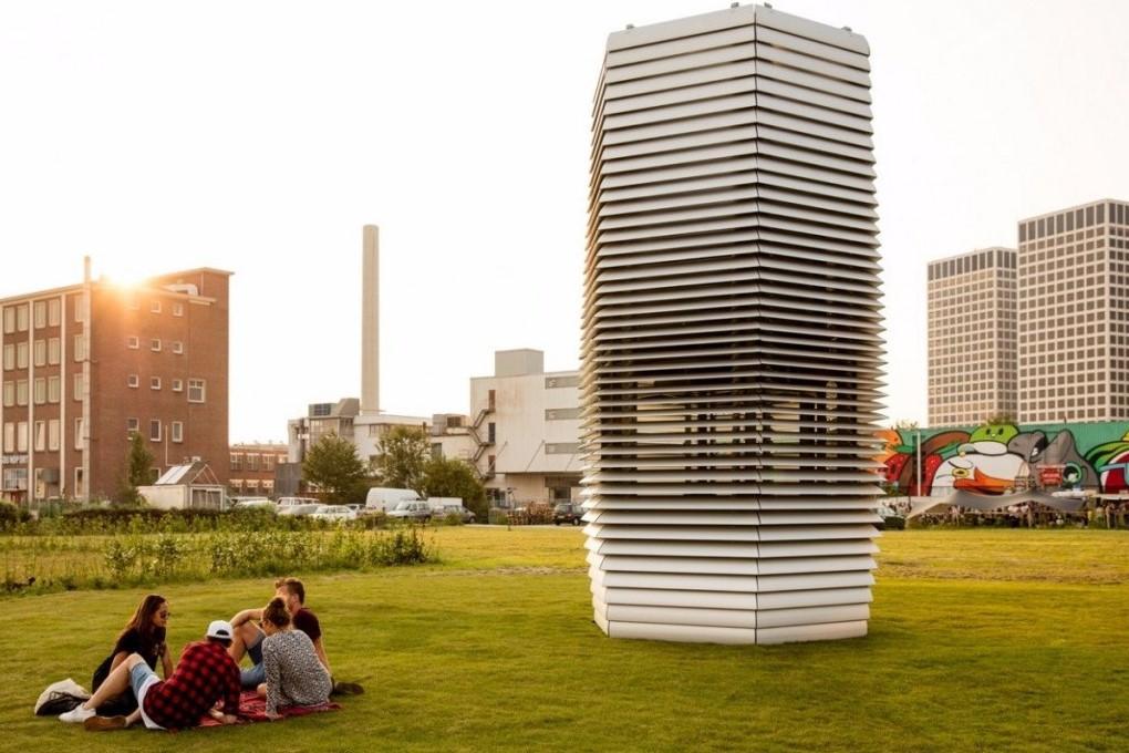 В Голландии создали башню для улавливания смога