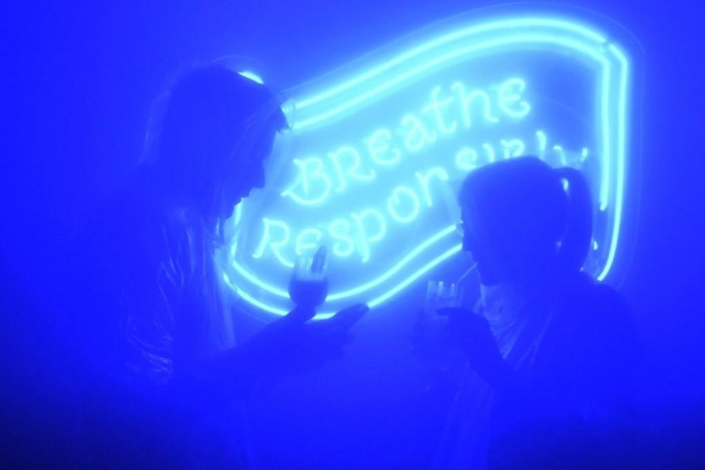В Лондоне открылся бар, где алкоголь не пьют, а вдыхают