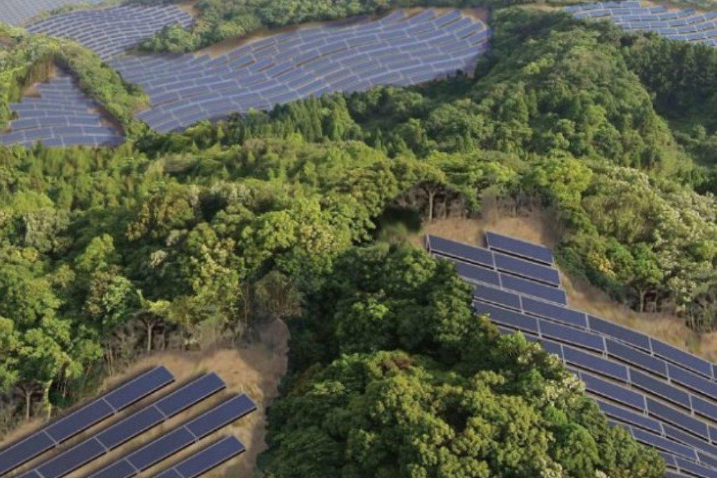 Япония строит на заброшенных полях для гольфа солнечные электростанции