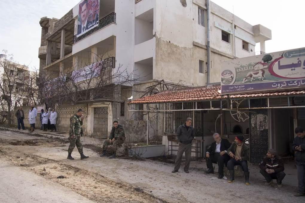Сирийское правительство с поддержкой России освободило город