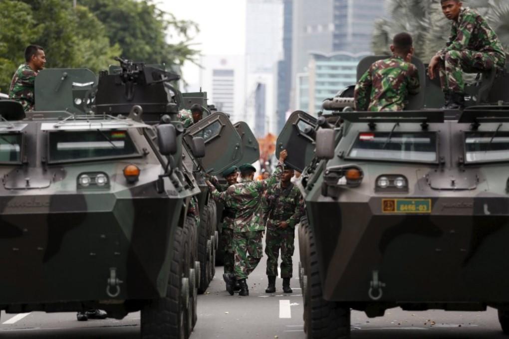 Исламские боевики напали на Джакарту
