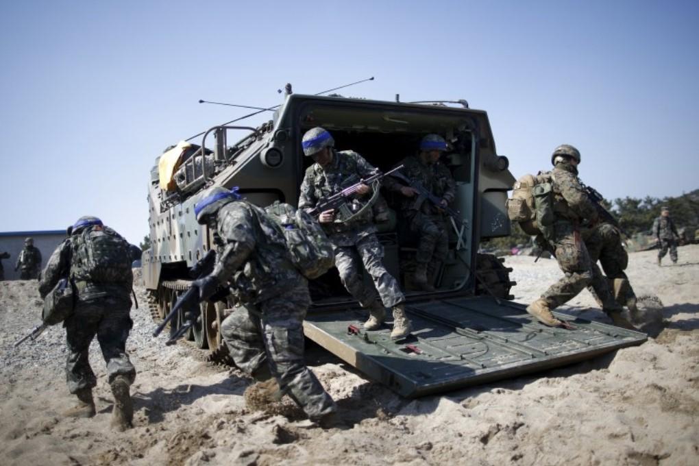 КНДР угрожает ответными военными мерами на учения США и Южной Кореи